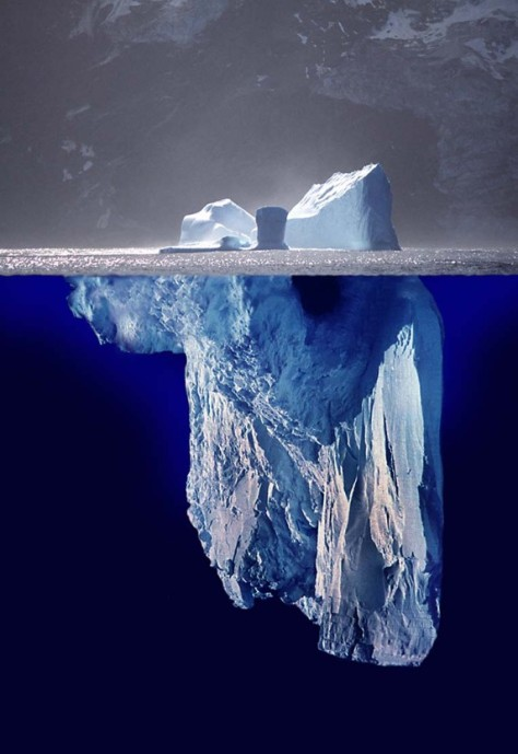 JV Information Iceberg - Partners should only request data from the JV that they really need